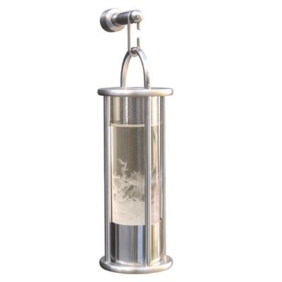 Peters Stormglas barometer børstet stål