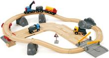 BRIO World - 33210 Rail & Road Kivenlastaus -ratasetti