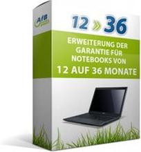 Erweiterung der Garantie für Notebooks von 12 auf 36 Monate