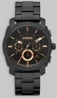 Fossil Fossil FS4682/Steel Svart