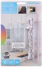 LED-nauha (30 led) paristokäyttöinen - 2m Kirkas Valkoinen