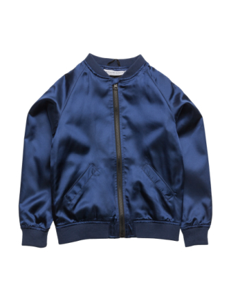 Bomber Jacket Flamingon Single-Animal Marine