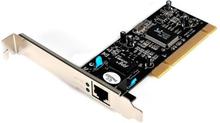 PCI 10/100/1000 32 Bit Gigabit Ethernet nätverksadapter-kort med 1 port