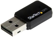 USB 2.0 AC600 trådlös-AC-nätverksadapter med mini dual-band - 1T1R 802.11ac WiFi-adapter