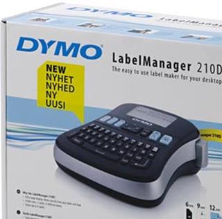DYMO LabelManager 210D, svart/vit märkmaskin