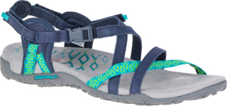 Merrell W's Terran Lattice II Sandals Navy 36 2019 Sandaler