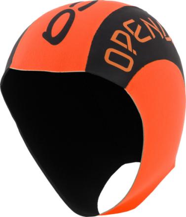 ORCA Neoprene Badehette Orange/Svart S/M 2019 Badehetter