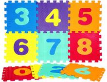 Way2Play, Pusselmatta siffror 0-9