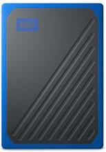 WD My Passport GO SSD 1TB Svart/Blå