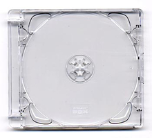 CD-ask Super Jewel Case 1-2 CD-skivor