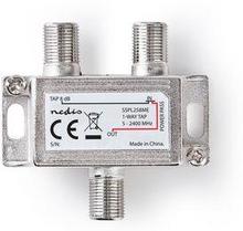 Nedis Satellit F-splitter | Max. dämpning 8 dB | 5 - 2400 MHz | 1 utgång