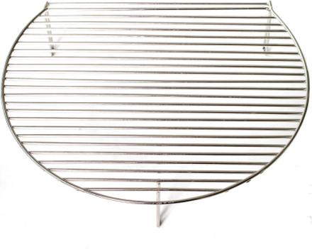 Övre grillgaller av rostfritt stål (Media)