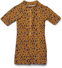 Max uv-dräkt Mini Leo/Mustard (Storlek: 68/74)