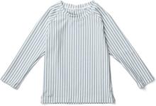 Noah UV-tröja Sea blue /white (Storlek: 104/110)