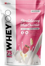 Bodylab Whey 100 (1 kg) - Strawberry White Chocolate