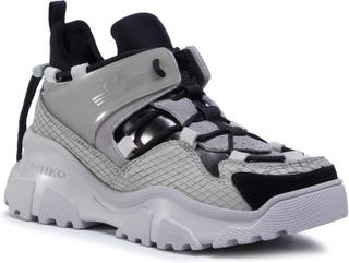 Sneakers PINKO - Love Trek Low AI 20-21 PBKSH 1P21Y2 Y6PZ Nero/Grigi ZI7