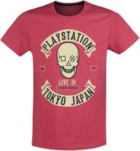 Playstation - Tokyo -T-skjorte - rødmelert