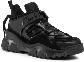 Sneakers PINKO - Love Trek Low 1 AI 20-21 PBKSH 1P220W Y6PZ Black Z99