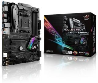 ASUS ROG STRIX B350-F GAMING Moderkort/AMD B350/AMD AM4 socket/DDR4 RAM