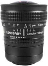 Fisheye Optic - fisheye lens - 5.8 mm
