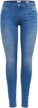 ONLY Onlallan Reg Pushup Skinny Fit Jeans Women Blue