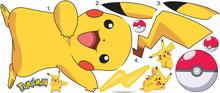 Roommates Wallsticker Pokemon Pikachu