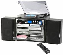 Retro Line Skivspelare m.CD-brännare TCDR-3860
