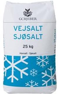 Wals Vejsalt, 25 kg. sække, 40 sække pr. pl.