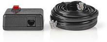 Fjärrkontroll för strömväxelriktare | för Nedis strömväxelriktare, ren sinusvåg | 5.00 m kabel