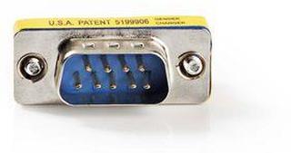 Nedis Serial adapter | Adapter | D-SUB 9-Pin Hane | D-SUB 9-Pin Hane | Nickel | Metall | Plastpåse