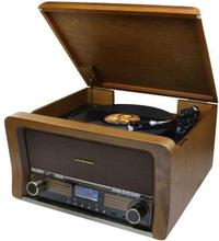 Soundmaster: Retro skivspelare TT/BT/CD/USB