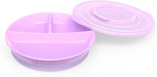 TwistshakeDelad tallrik 6+m Pastel Purple