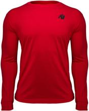 Gorilla Wear Williams Longsleeve Red - Treningsgenser