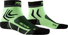 X-Socks Bike Pro Mid Socks opal black/amazonas green EU 42-44 2020 Sokker