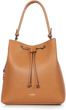 Handtasche in lässiger Beutel-Form L. Credi braun