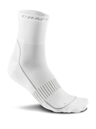 Craft Cool Training 2-Pack Sock WHITE Treenisukat - Poistuva tuote