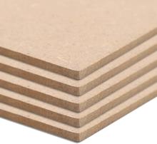 vidaXL MDF-skivor 20 st kvadrat 60x60 cm 2,5 mm