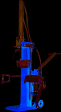 Vertikal vedklyv - 3500W