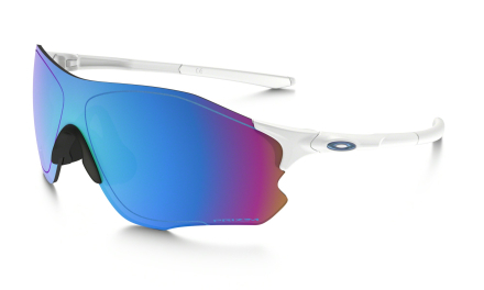 Oakley EVZero Path Prizm Snow Sportglasögon Polished White