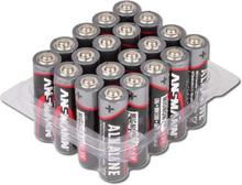 Alkaline batterier Ansmann AA 20 stk