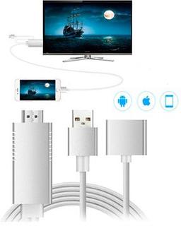 Full HD Mirroring Kabel - Lightning, microUSB, USB-C/HDMI Adapter