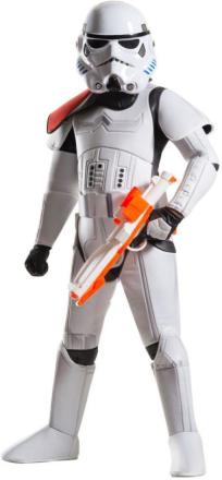 Deluxe Stormtrooper kostume 125 cm - Star Wars fastelavn og udklædning 620275 - Eurotoys