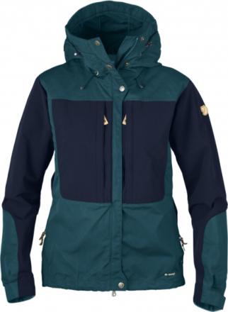 Fjällräven Keb Jacket W Glacier Green/Dark Navy