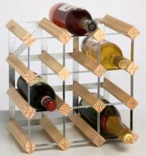 Rta 12 - Vinstativ Til 12 Flasker, Lys Furu