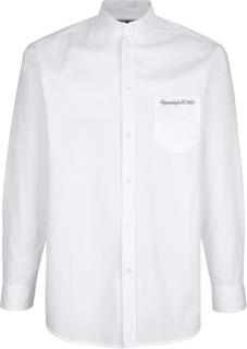 Skjorte med kinakrage Roger Kent Hvit