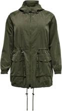 ONLY Curvy Seasonal Parka Coat Women Green