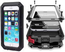 Army SHOCK-DROP Aluminum-fodral för iPhone 6 6S GULD c260ce113fd4c