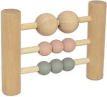 Trä Abacus pastel