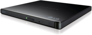 LG Slim External Base DVD-W 9,5mm Retail Black
