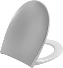 Pressalit Toiletsæde Scandinavia PLUS m/låg Hvid Kip-beslag m/lift-off, rustfri